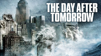 Netflix box art for The Day After Tomorrow